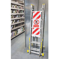 No Climbing Eyelet Sign 1885 x 300mm