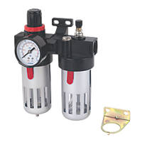"1/2"" BSP Air Tool Filter Regulator & Lubricator"
