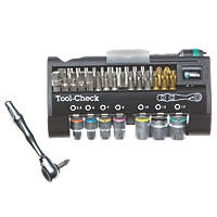 "Wera Zyklop Mini 1/4"" Drive Bit Ratchet Set 38 Piece Set"