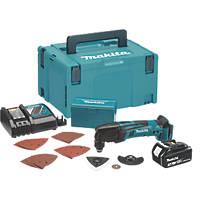 Makita DTM50RF1J1 18V 3.0Ah Li-Ion LXT  Cordless Multi Tool