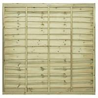 Grange Pro Lap Fence Panels 1.83 x 1.8m 4 Pack