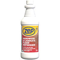 Zep Commercial Hardwood and Laminate Floor Refinisher Gloss 1Ltr