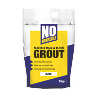 No Nonsense  Wall & Floor Grout Black  5kg