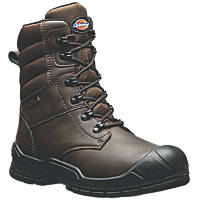 Dickies Trenton Pro   Safety Boots Brown Size 7