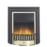 Dimplex Cheriton Brass Switch Control Freestanding Electric Fire