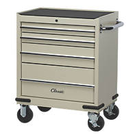 Hilka Pro-Craft  4-Drawer Classic Tool Trolley