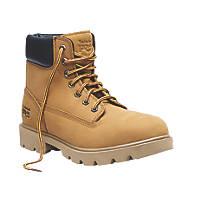Timberland Pro Sawhorse   Safety Boots Wheat Size 10