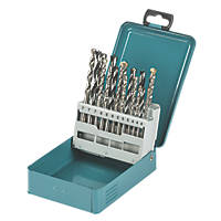 Makita Straight Shank Combination Drill Bit Set 18 Pieces