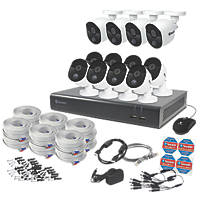 Swann SODVK-1645812-UK 16-Channel CCTV DVR & 12 Cameras