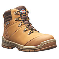 Dickies Cameron   Safety Boots Honey  Size 8