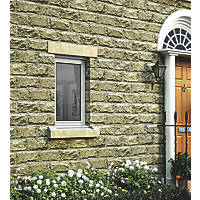 Jeld-Wen Stormsure Left-Hand Opening Double-Glazed Casement White Painted Timber Window 625 x 895mm