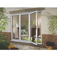 Euramax uPVC Fold & Slide Double-Glazed Patio Door Left-Hand 2390 x 2090mm