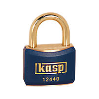 Kasp  Lockout Padlock Blue 20 x 21mm