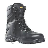 Site Flint Hi-Top Safety Boots Black Size 10