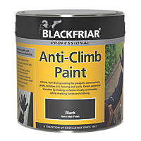 Blackfriar Anti-Climb Paint Black 1Ltr
