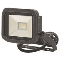 Luceco LFS61B50 LED Slim Floodlight 8W Black Cool White