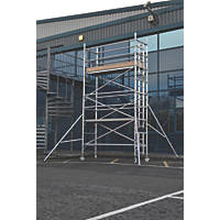Lyte Helix Single Depth Aluminium Industrial Tower 3.7m