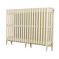 Arroll  4-Column Cast Iron Radiator 660 x 1114mm Cream