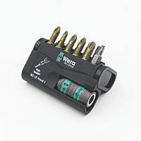 Wera Bit-Check   Mixed Wood Extra-Hard Torsion Screwdriver Bit Set 12 Pieces