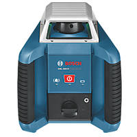 Bosch GRL 400 H Professional Red Self-Levelling Rotary Laser Level With Receiver