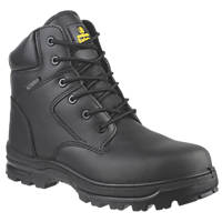 Amblers FS006C Metal Free  Safety Boots Black Size 7