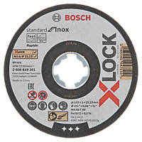"Bosch X-Lock  Cutting Disc 4½"" (115mm) x 1 x 22.23mm 10 Pack"