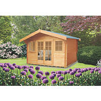 Shire Caledonian Log Cabin Assembly Included 4.7 x 4.1m