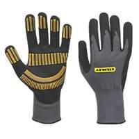 Stanley Razor Gripper Gloves Grey X Large