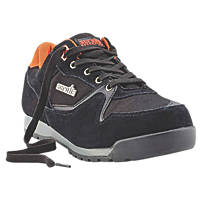 Scruffs Halo 2 Safety Trainers Black Size 9