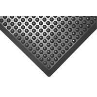 COBA Europe  Anti-Fatigue Bubblemat Black 1200mm x 900mm