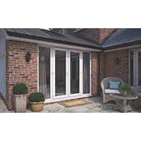ATT  uPVC French Doors & Sidelights White 2990 x 2090mm