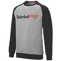 "Timberland Pro Honcho Sport  Hooded Sweatshirt  Grey Marl  Medium 43"" Chest"