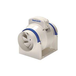 Vent-Axia ACM100 0.2kW In-Line Bathroom Extractor Fan ...