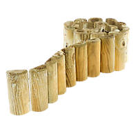 Rowlinson Border Roll Natural Timber 1.8m 2 Pack