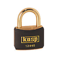 Kasp  Lockout Padlock Black 20 x 21mm