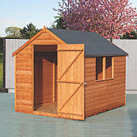 Shire 6' x 8' (Nominal) Apex Overlap Timber Shed
