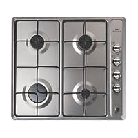 New World NWGHU601 Gas Hob Stainless Steel 510 x 580mm