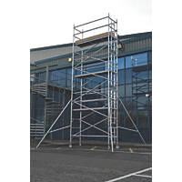 Lyte Helix Single Depth Aluminium Industrial Tower 6.2m