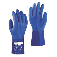 Towa OR656 PVC Gauntlet Blue Large