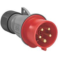 ABB 32A 4P+E 32A Straight Plug 4P+E  415V