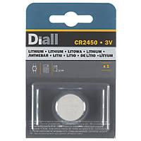 Diall Battery CR2450