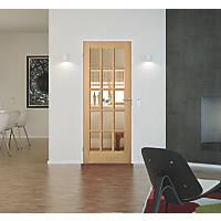 Jeld-Wen  15-Clear Light Unfinished Oak Veneer Wooden 15-Panel Internal Door 2040 x 826mm