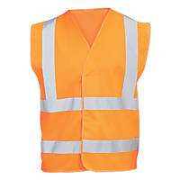 "Hi Vis Waistcoat Orange XX Large / XXX Large 51¾"" Chest"