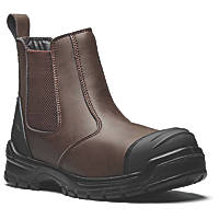 Dickies Davis Metal Free  Safety Dealer Boots Brown  Size 8
