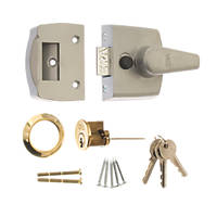 ERA 1430-51 Replacement Night Latch Satin 40mm Backset