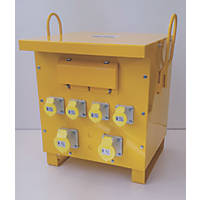 Carroll & Meynell 3-Phase 10kVA Continuous Step-Down Isolation Transformer 400V/110V
