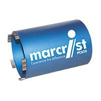 Marcrist PC650 Diamond Core Drill Bit 107mm