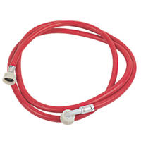 Washing Machine Inlet Hose Red 2.5m x ¾""