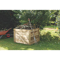 Forest Slot-Down Compost Bin 1.1 x 0.8 x 1m