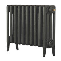 Arroll  4-Column Cast Iron Radiator 460 x 754mm Pewter
